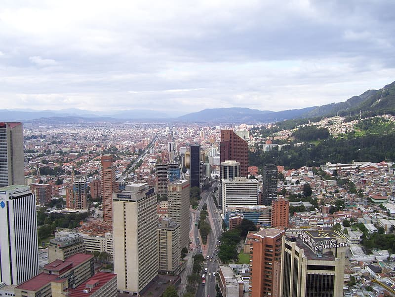 Aerial-view of city