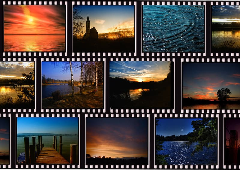 Collage of photography