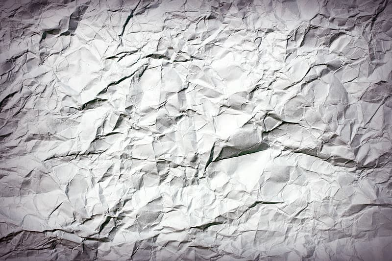Untitled, crumpled paper, abstract, antique, backdrop, background, ball, bin, blank, bumpy