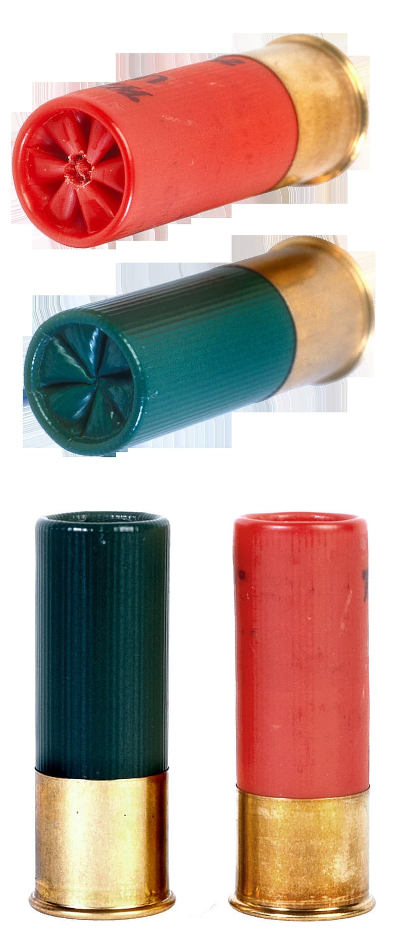 Black red and green cylindrical container
