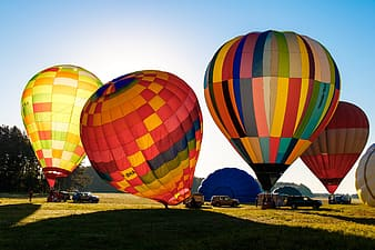 Photo of hot air balloon festival
