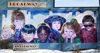 Broadway One Road Way wall art