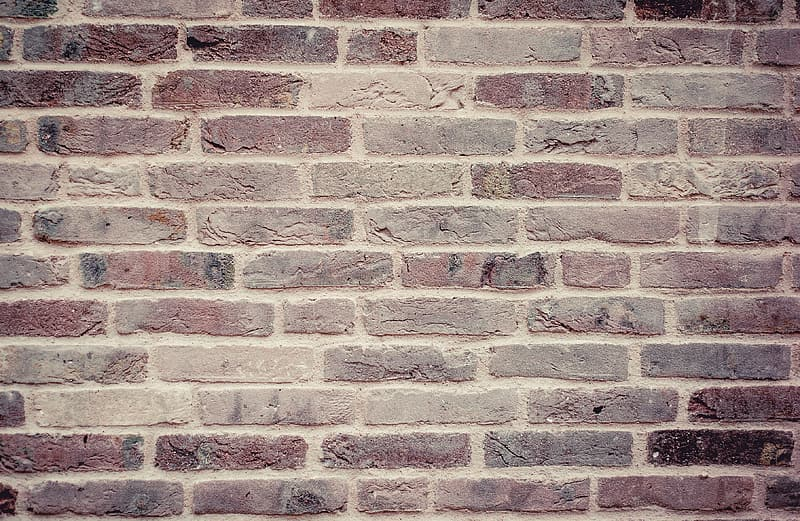 Red bricked wall