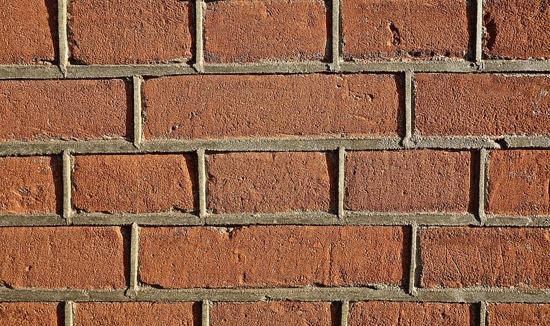Brown bricked wall