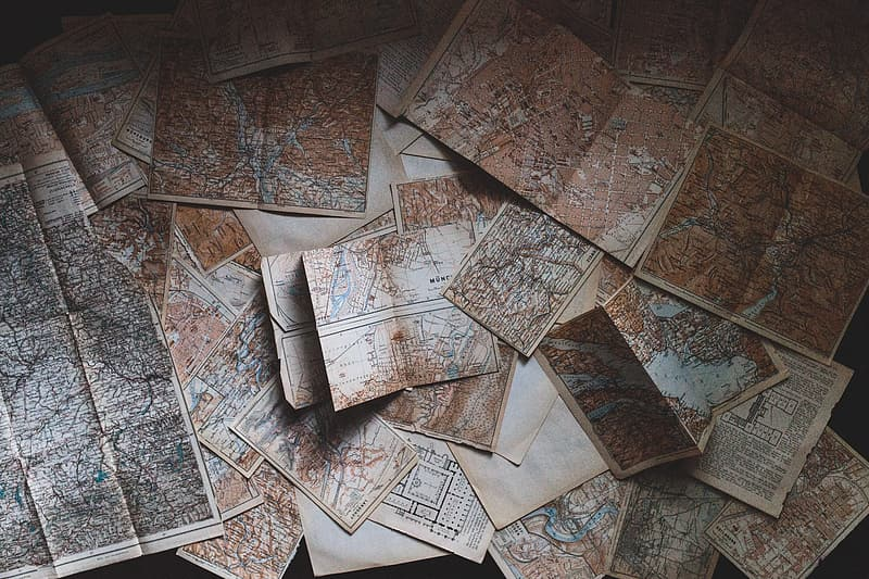 Brown maps lot