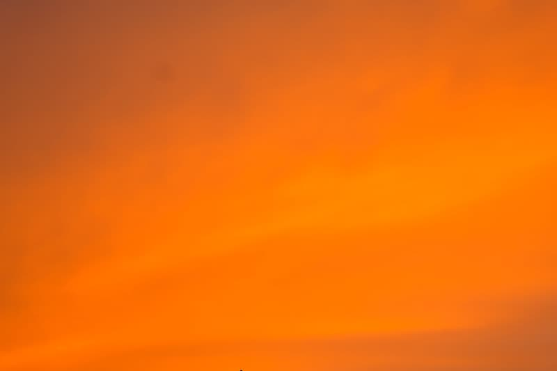 Untitled, sky, coloring, sunset, evening sky, orange, colored, colorful, color, clouds