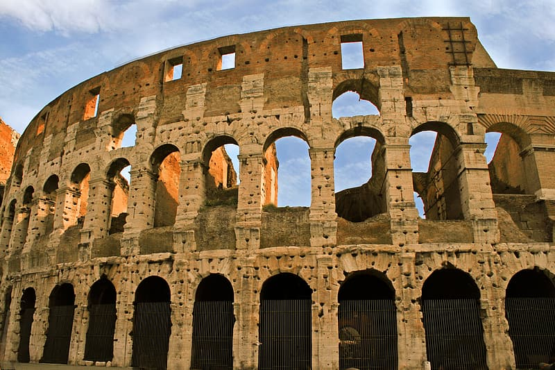 Architectural photography of Colosseum