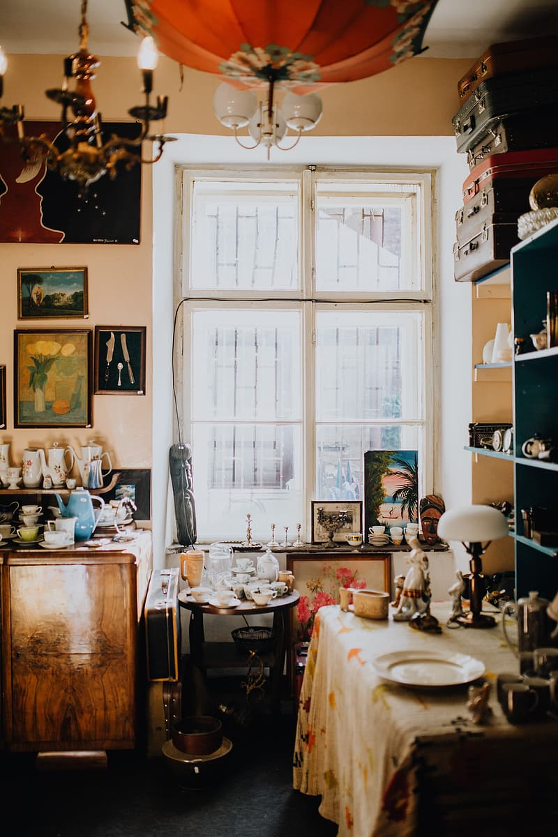 Antique shop filled with antiquity
