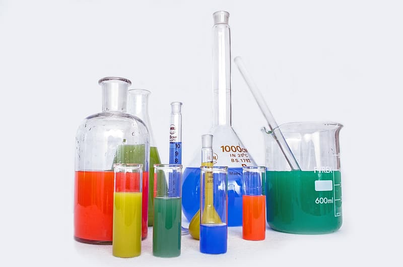 Assorted test tube lot