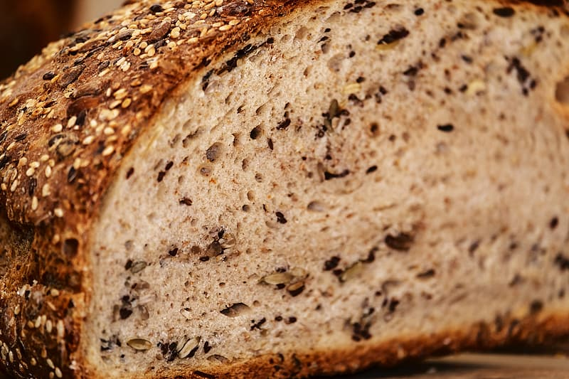 Shallow focus photography of bread