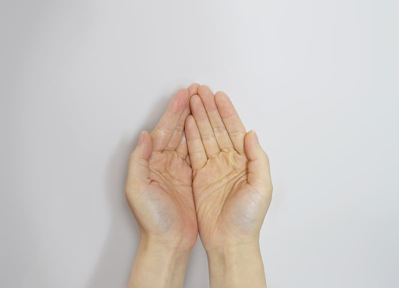 Person's hand s