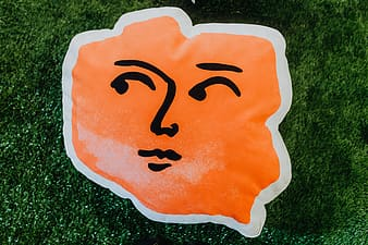Poland shaped pillows with faces