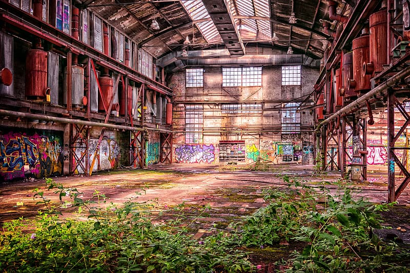 Photography of empty building