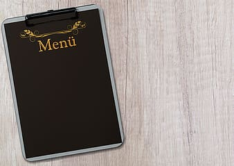 Black Menu clipboard