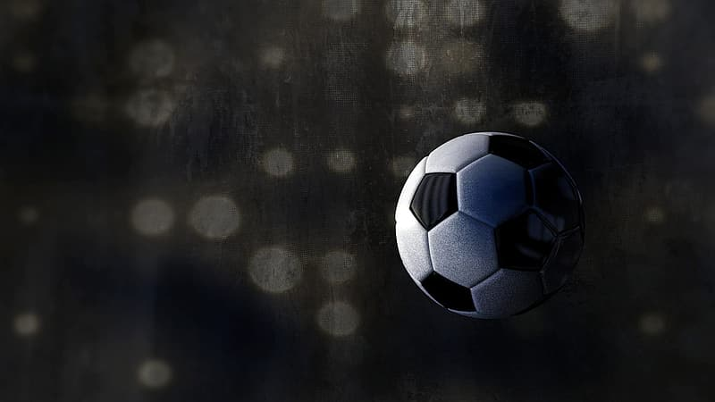 White and gray soccer ball
